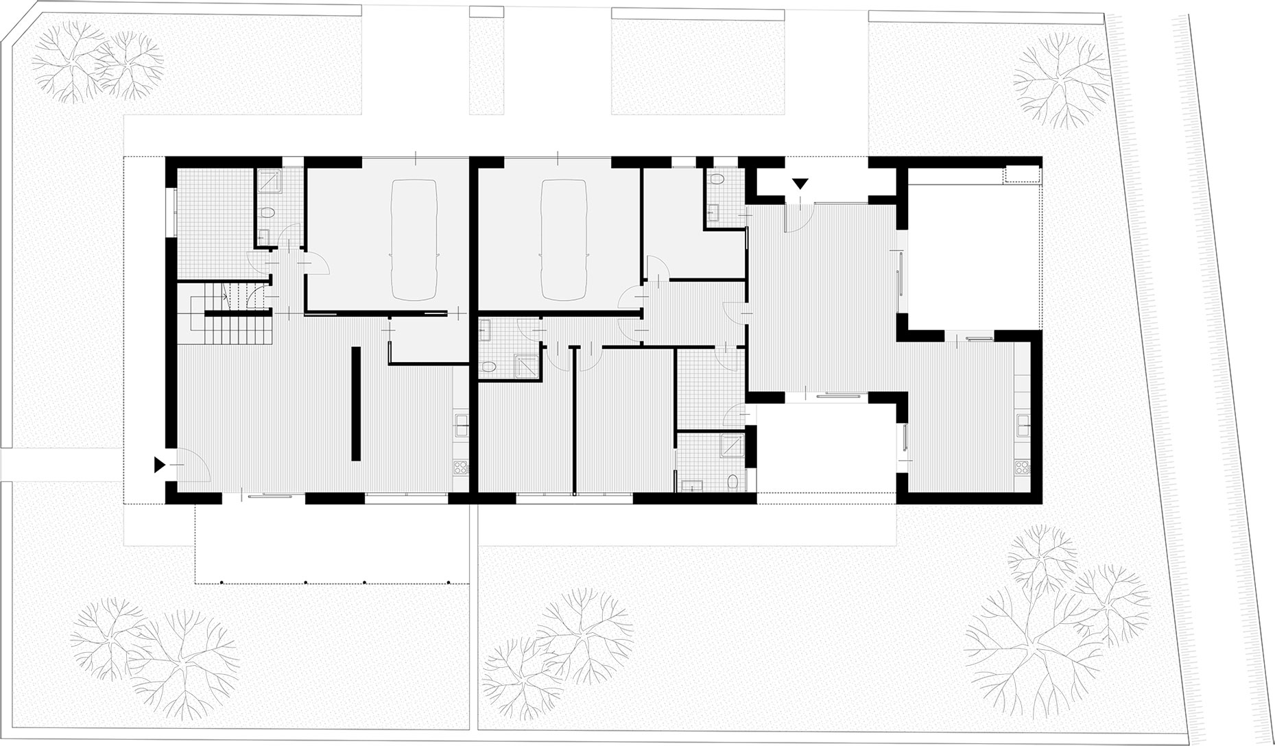 BSP - Z. House - Padova - Floor plan