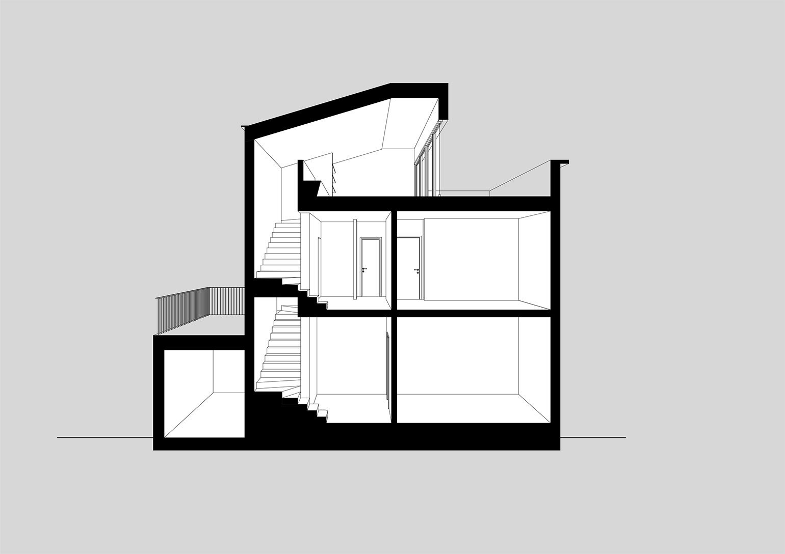 BSP - Renovation of A. House - Padova - Section